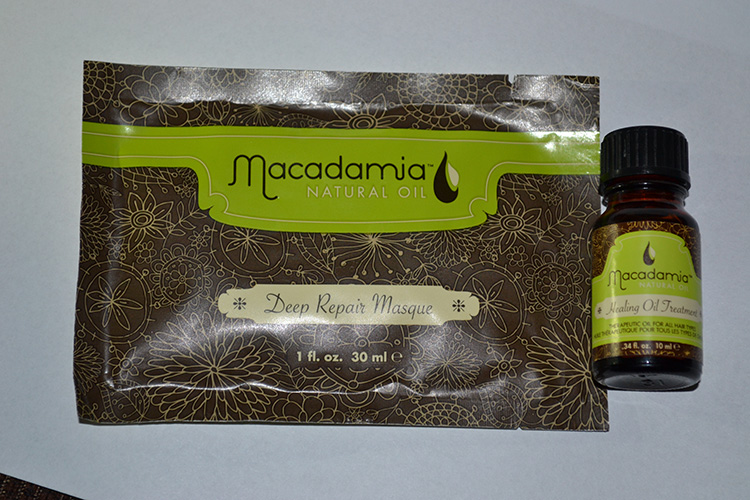 macadamia mask and oil