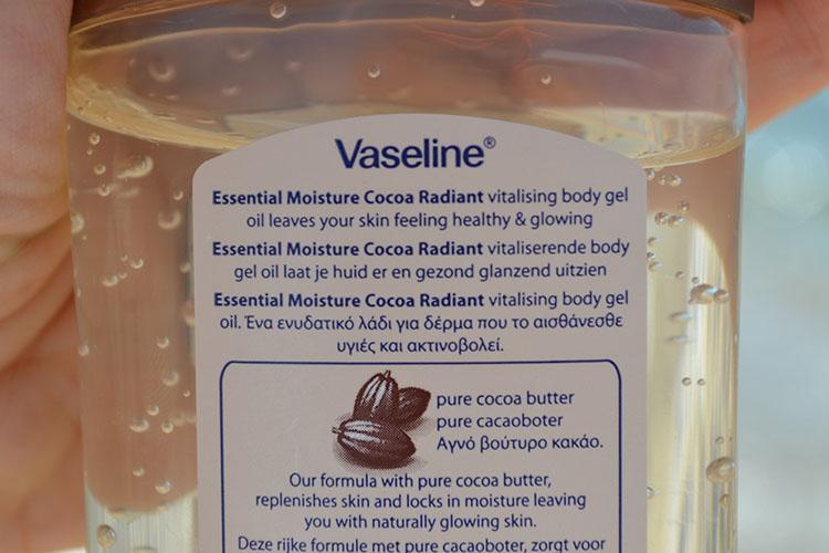 cocoa vaseline