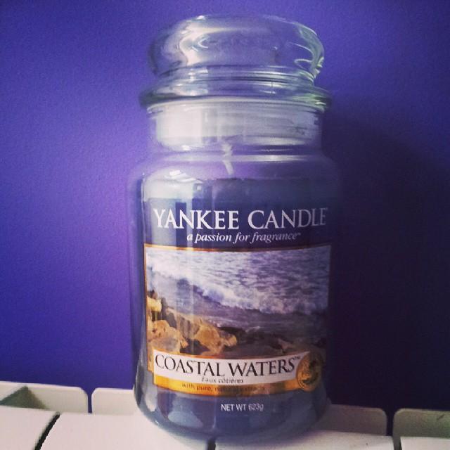 #yankeeaddicts #yankeecandles #yankeecandlesrule #candle #svece #mirisljavesvece #love #costalwaters Kad te neko voli, zna pravi poklon za mene!!!