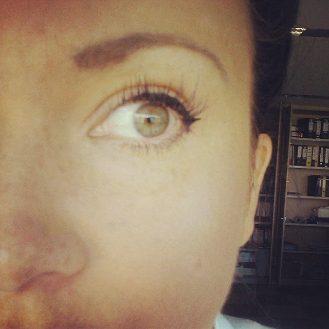 #svilenetrepavice #lashperfection #lashblast #lashes #hollywoodlash #trepavice  Nove svilene su stavljene