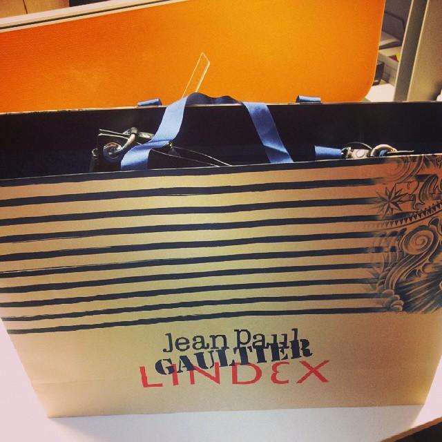 #lindex#jeanpaulgaultier  Morala sam da se bijem....ali je moja♡♡♡♥♥