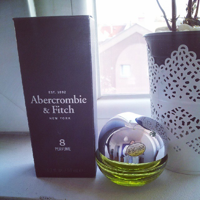 #abercrombie&fitch#nyc#loveny #ny#dkny#newyorkcity  Wanna smell like NY today¡¡←←:-)