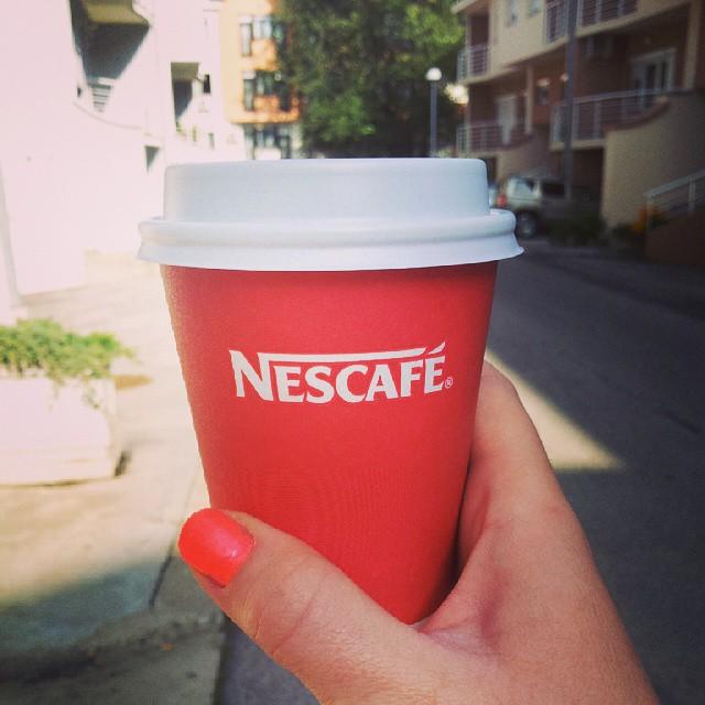 #freeday#slobodandan#nescafe#coffietime  Uzivancija