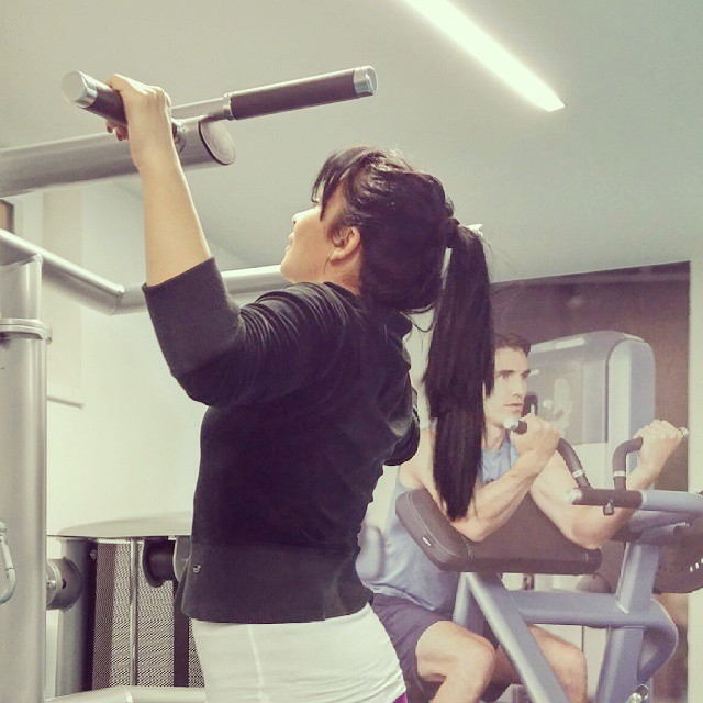 #fitness #teretana #nightgymtime#gym #gymtime  Deset uvece ja se bildujem;)
