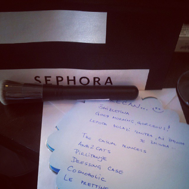 #happybday#to#me#again #sephorasrbija#blogerke #bbloggers Hvala devojke;)))