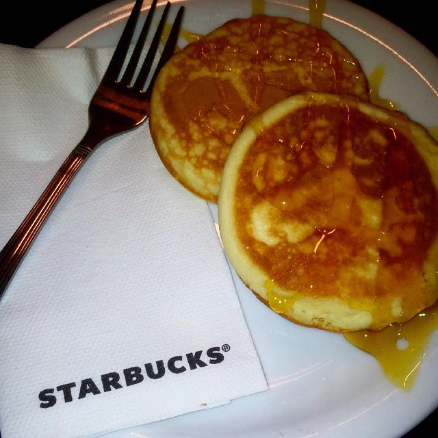 #starbucks #budapest #americanpancakes