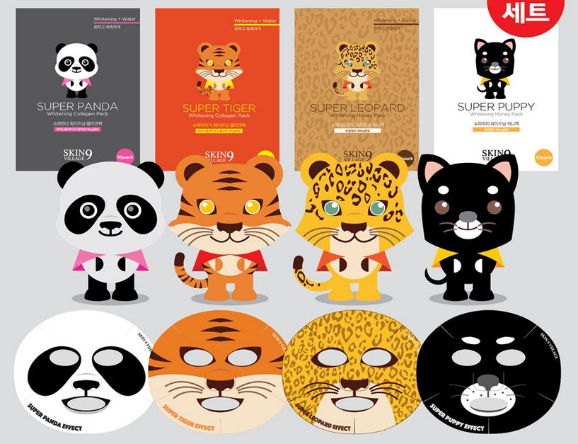 Animal sheet mask